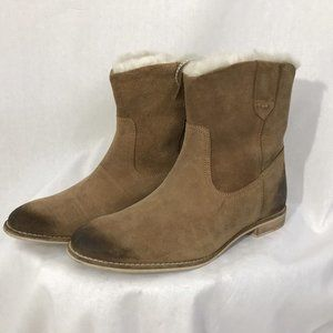 Matisse Short Boots Nepal Leather Suede Booties 8